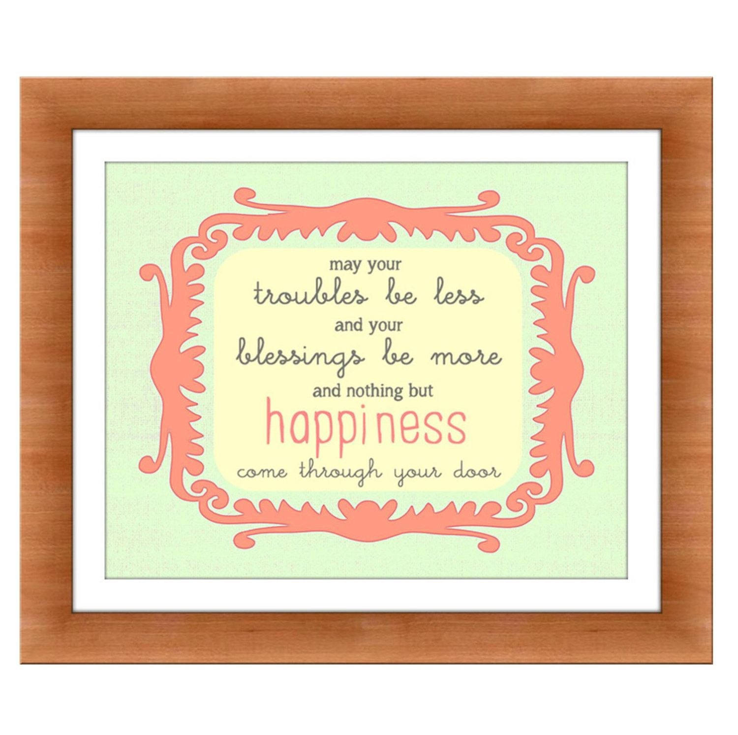 Irish Blessing Nursery art Kids Wall Art Baby girl by RosyHuesArt ...