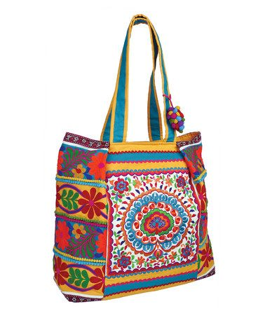 Thai Tote by Karma Living on zulily