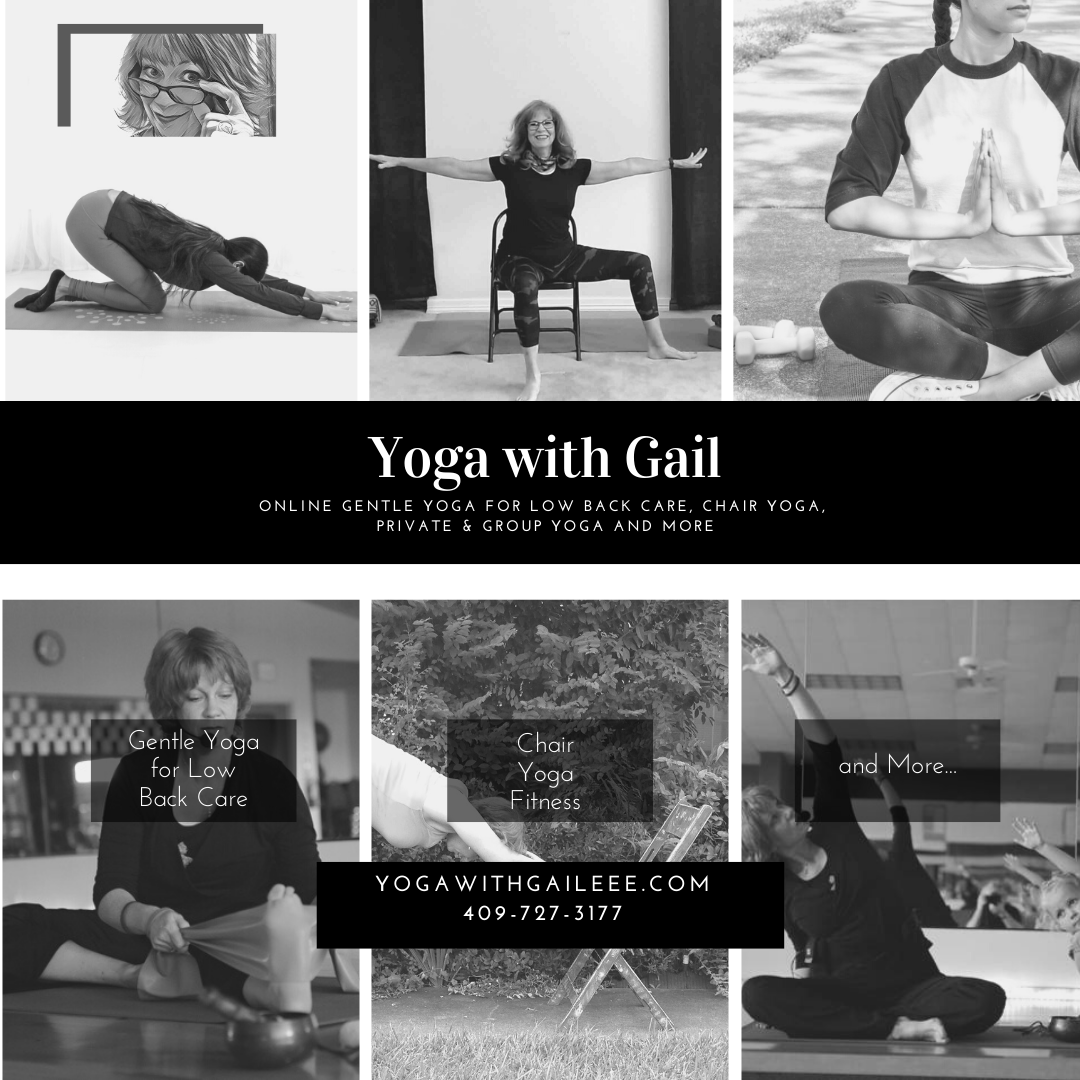 Online Yoga with Gail in 2020 Chair yoga, Yoga