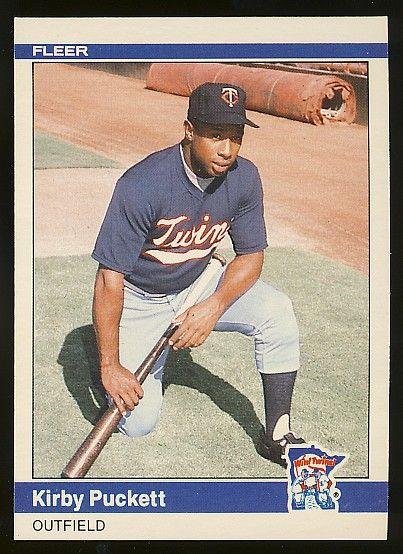 1984 Fleer Update Kirby Puckett Rookie Card Baseball Card Wish