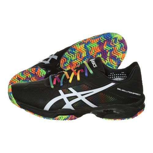 zapatilla padel asics gel solution speed 3 clay grey