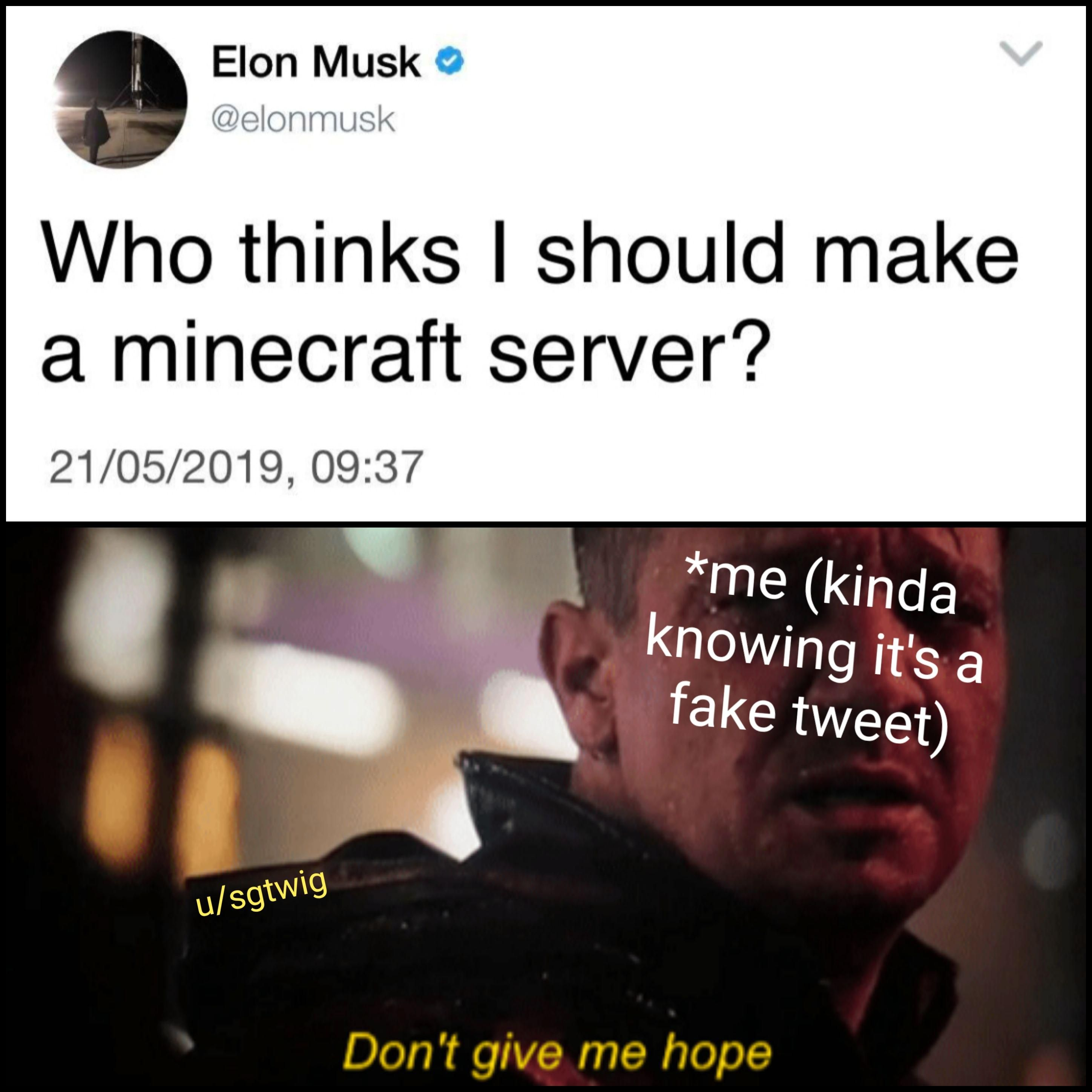 Musk You Know Better Than To Toy With Our Emotions Funny Memes Bad Memes Humor