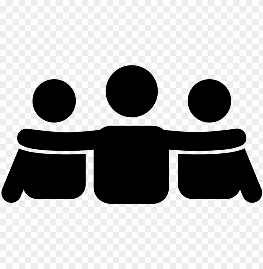 19 Black And White Best Friends Png Royalty Free Huge Support Team Icon Png Image With Transparent Background Png Free Png Images Free Png Png Icon