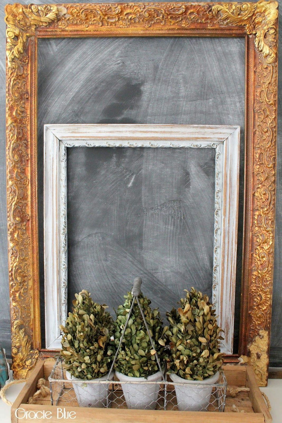 Decorative Frame Chalkboard DIY ** You can get more details by ...