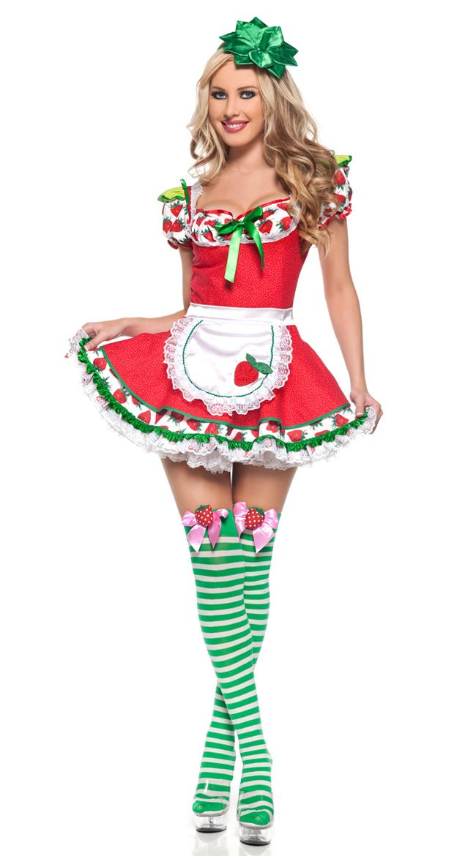 Adult Strawberry Girl Costume Angel Dove Pinterest Costumes - halloween girl costume ideas