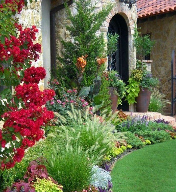 Ideas De Diseño De Jardines Residenciales: Arbustos Pequeños Para Jardin
