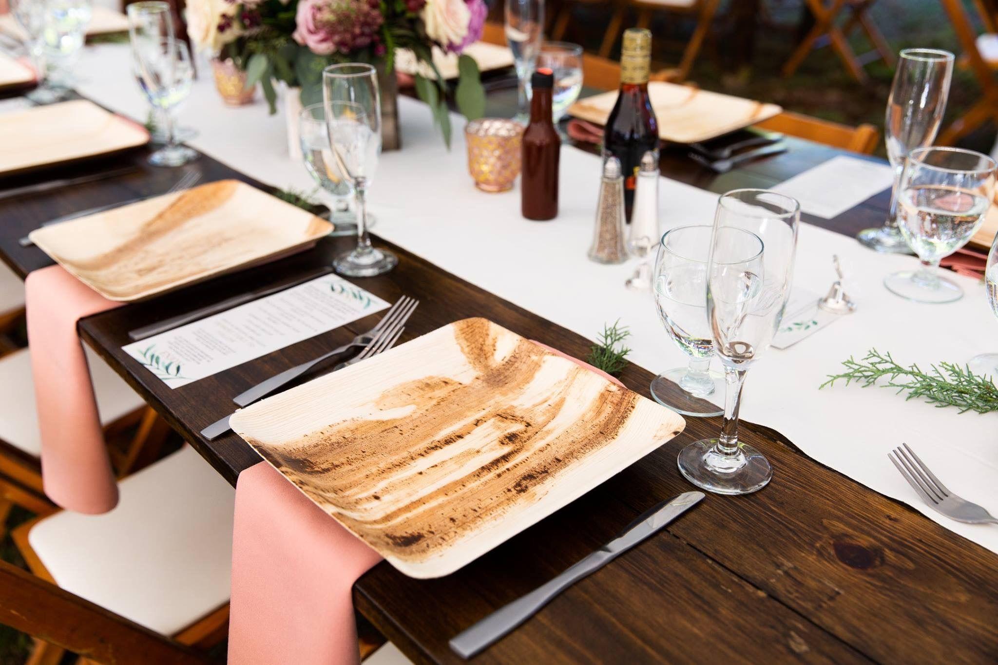 Compostable Wedding Plates Wedding Food Table Bamboo Plates Wedding Disposable Wedding Plates