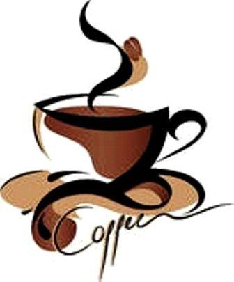 Coffee art Love Coffee - Makes Me Happy