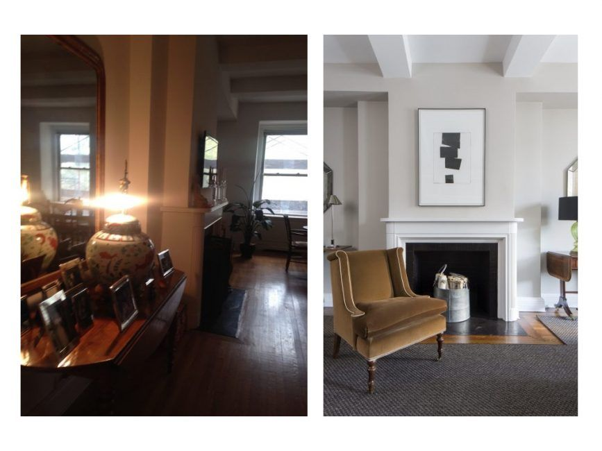 Fireplace inspiration pre war redesign decor aid interior design guide also an upper east side loft with  transitional mag rh pinterest