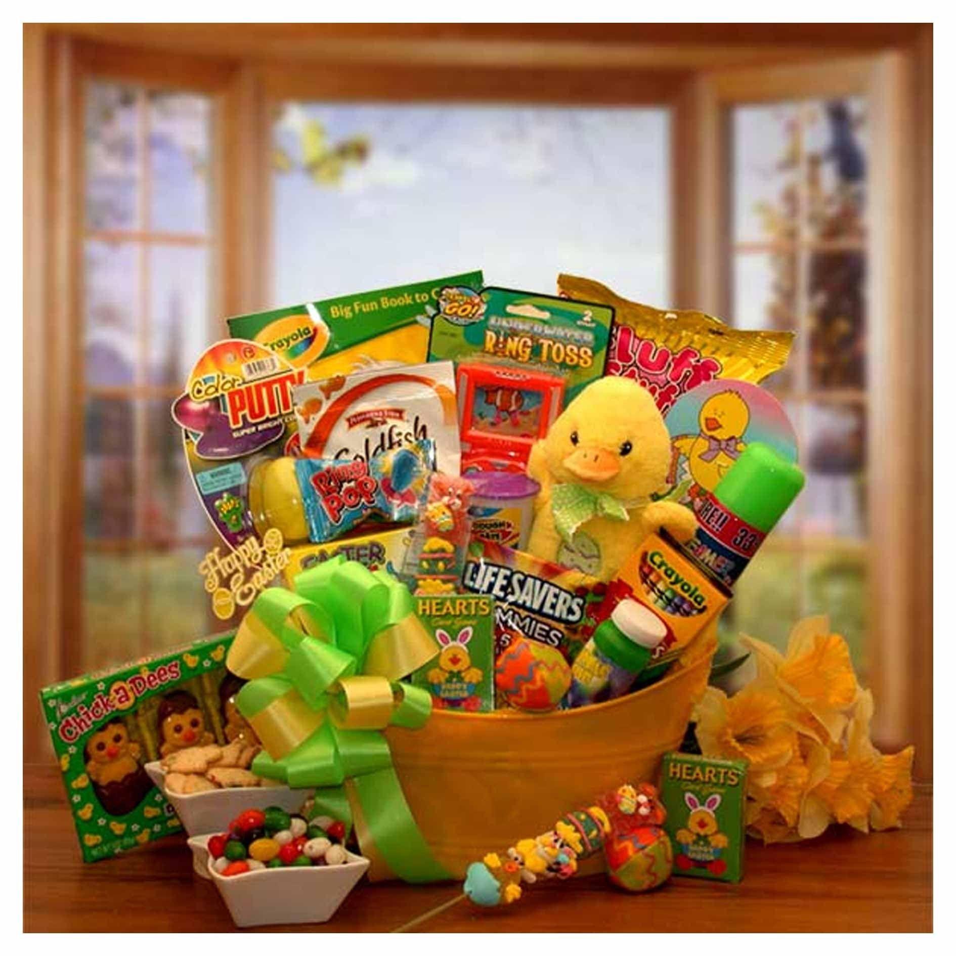 Easter sunshine little duckling gift pail kids easter