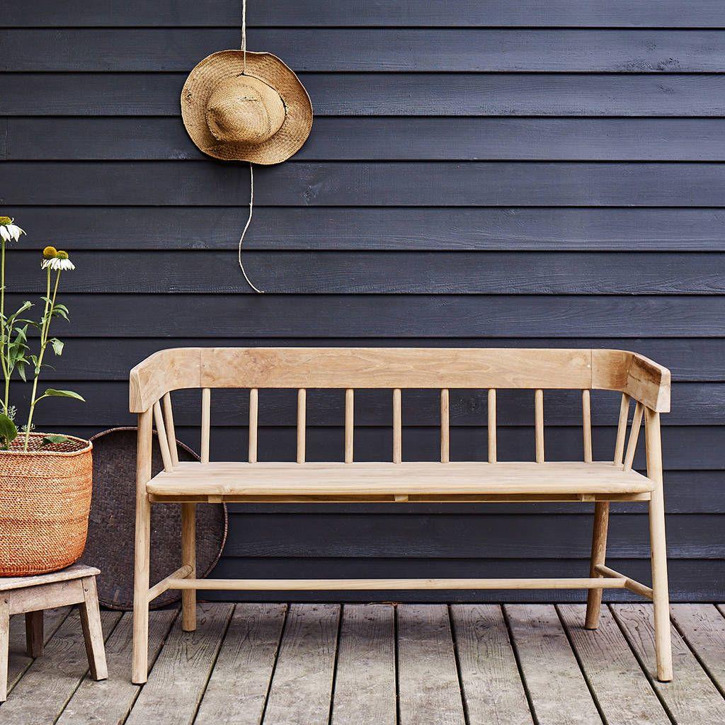 Byron Indoor Outdoor Bench In 2021 Indoor Bench Outdoor Furniture Modern Bench Outdoor