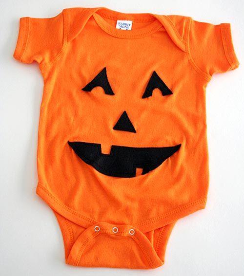 481b14c37 Jack O Lantern Onesie | Babies/Kids Related | Halloween onesie, Diy ...