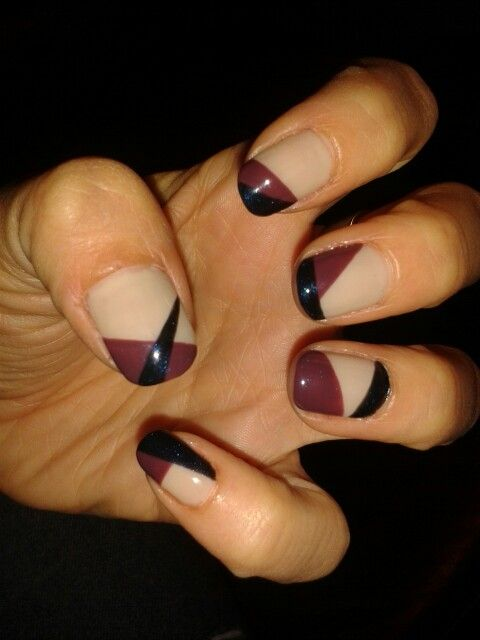 Love this combo! | Sensational nails, Nail art, Nails