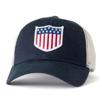 ae142fa0da662 Civil Standard USA Hat. Civil Standard USA Hat Mesh Panel, Usa Baseball Hat,  Embroidered Badges, Flag Patches