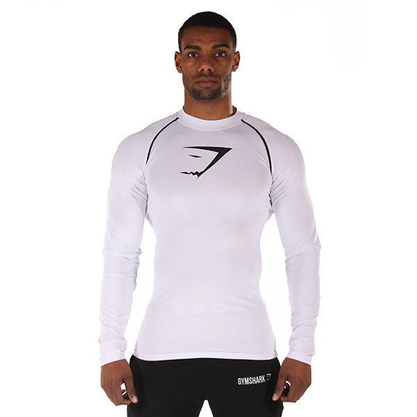 973bcd4b18adb0 GymShark Core Top - White Men s featured clothing