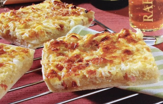 Learn how to make the Allgau Specialty Onion Cake