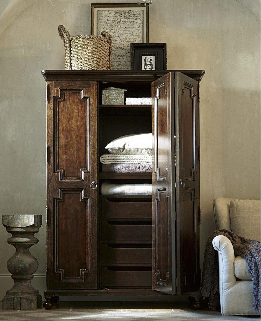 Incroyable Proximity Cherry Wood 2 Door Armoire Cabinet1 834x1024.