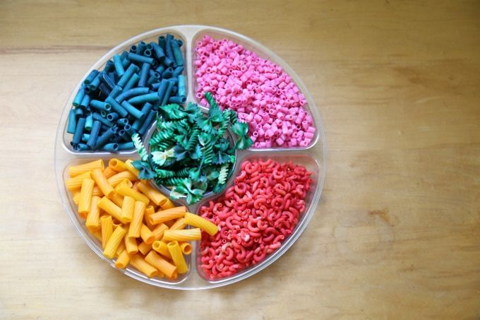 FUN Pasta Art Activities for Kids + How to Dye Your Own Pasta ...