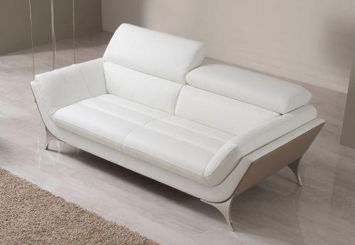 Divano grigio ~ Divano in pelle grigio due posti cerca con google divano
