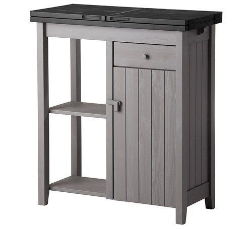 Ikea S New Olofstorp Storage Island With An Extendable Top Kitchen Storage Units Ikea Kitchen Island Cart Ikea
