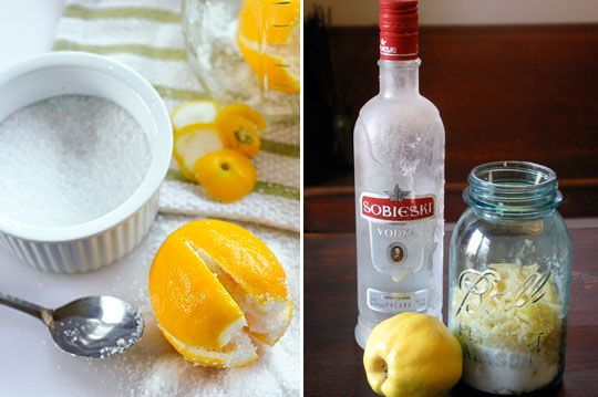 Lots of edible gift recipes using vinegars, liqueurs & condiments to start now so their flavors have time to develop.