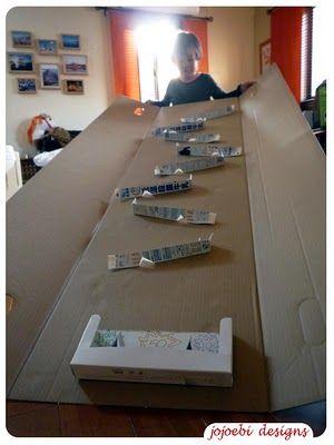Marble Run Diy Paper Plates