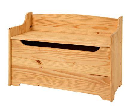 Baúl de madera BANQUETA | Carpinteria y bricolaje | Pinterest | Baul ...