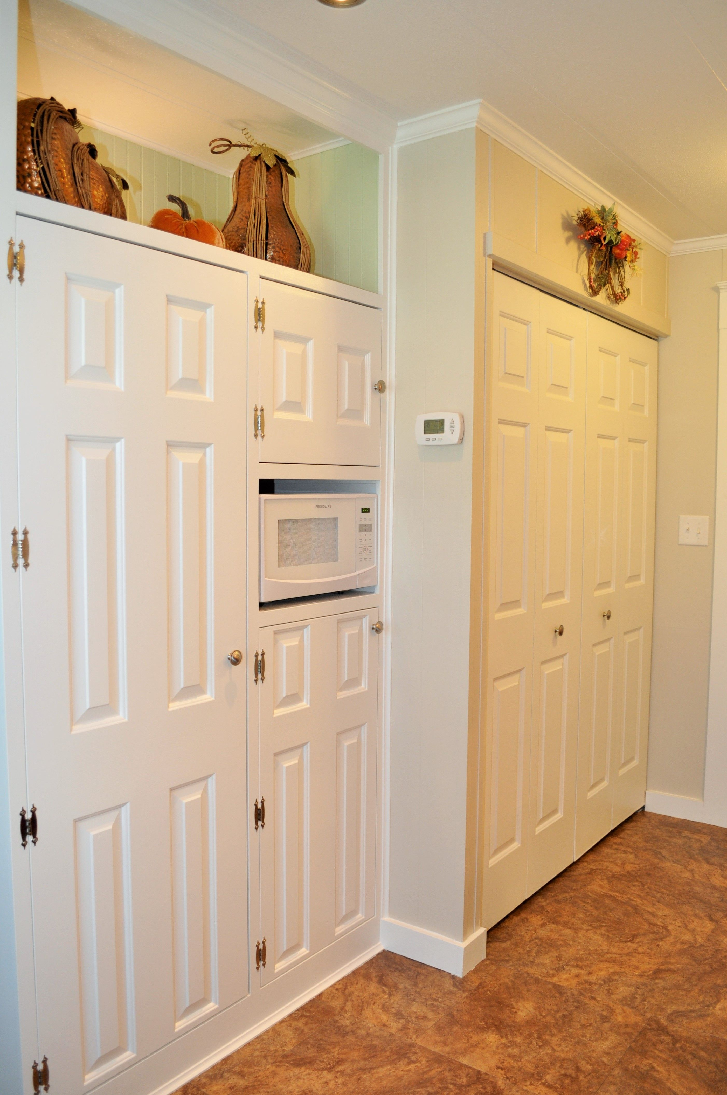 Mobile Home Originally The Pantry Was A Breakfast Nook Used The