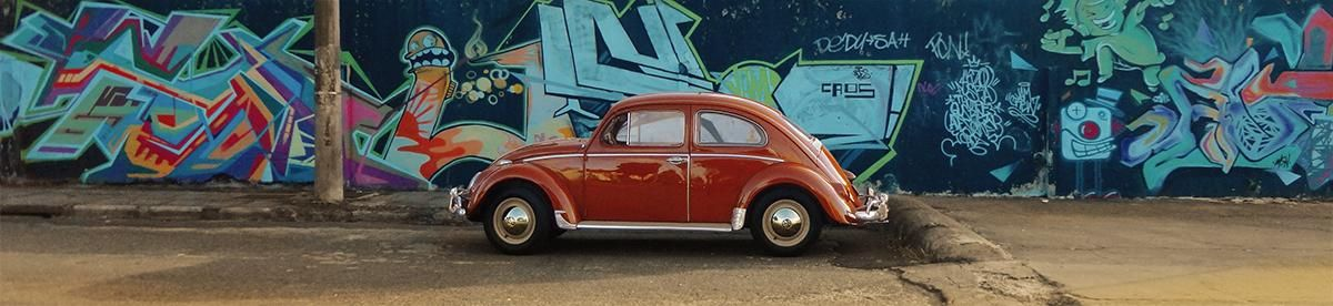Vw 1962 Brazilian Bug, Red-Ceramic color [L1050].