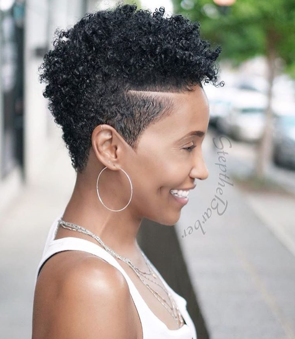 Dope tapered fro by stepthebarber blackhairinformation