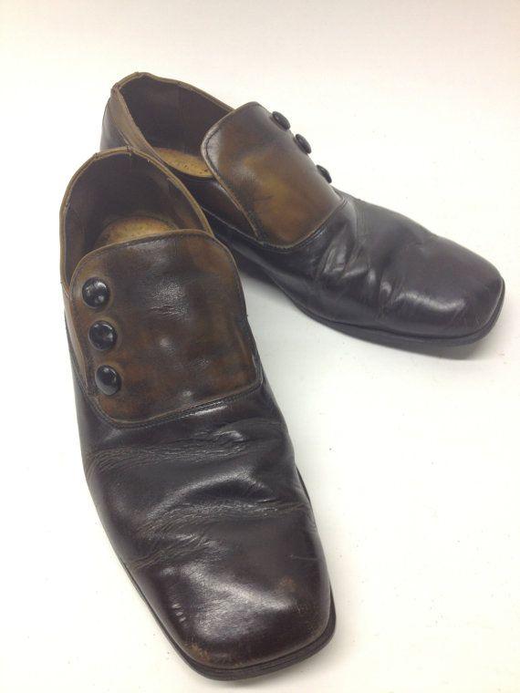 Vintage Men's Shoes Edwardian Titanic Gatsby styled