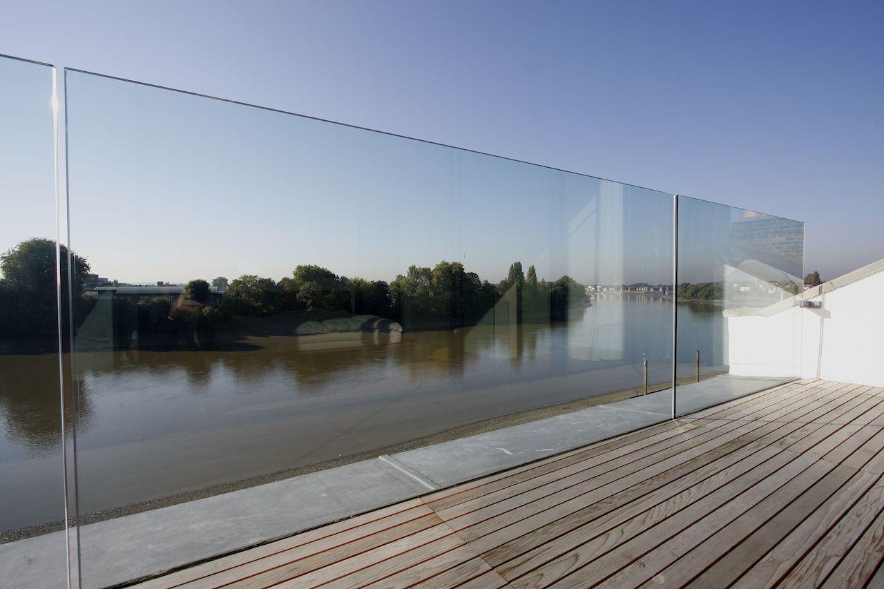 External Glass Balustrade By Iq Glass Arhitectura