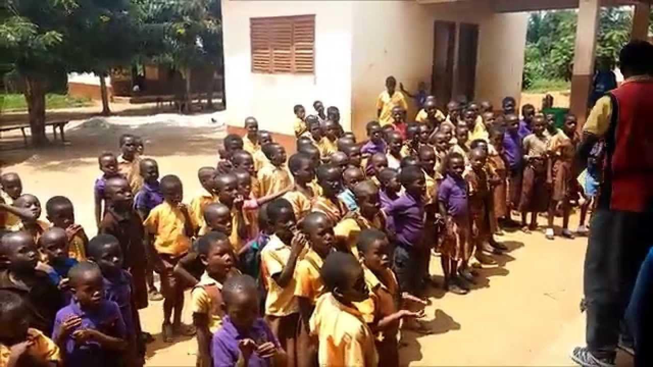 Voetbaltenues van SVI voor Ghana