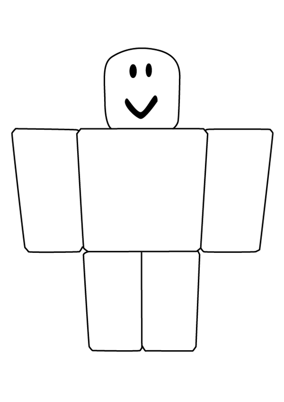Roblox Noob Coloring Pages Roblox Coloring Pages Roblox