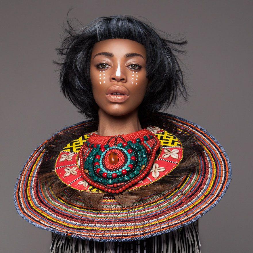 Armour les magnifiques coiffures Afro de Lisa Farrall