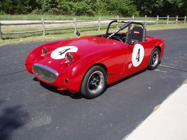 1959 Austin Healey Bugeye Sprite Racecar Lotustalk The Lotus