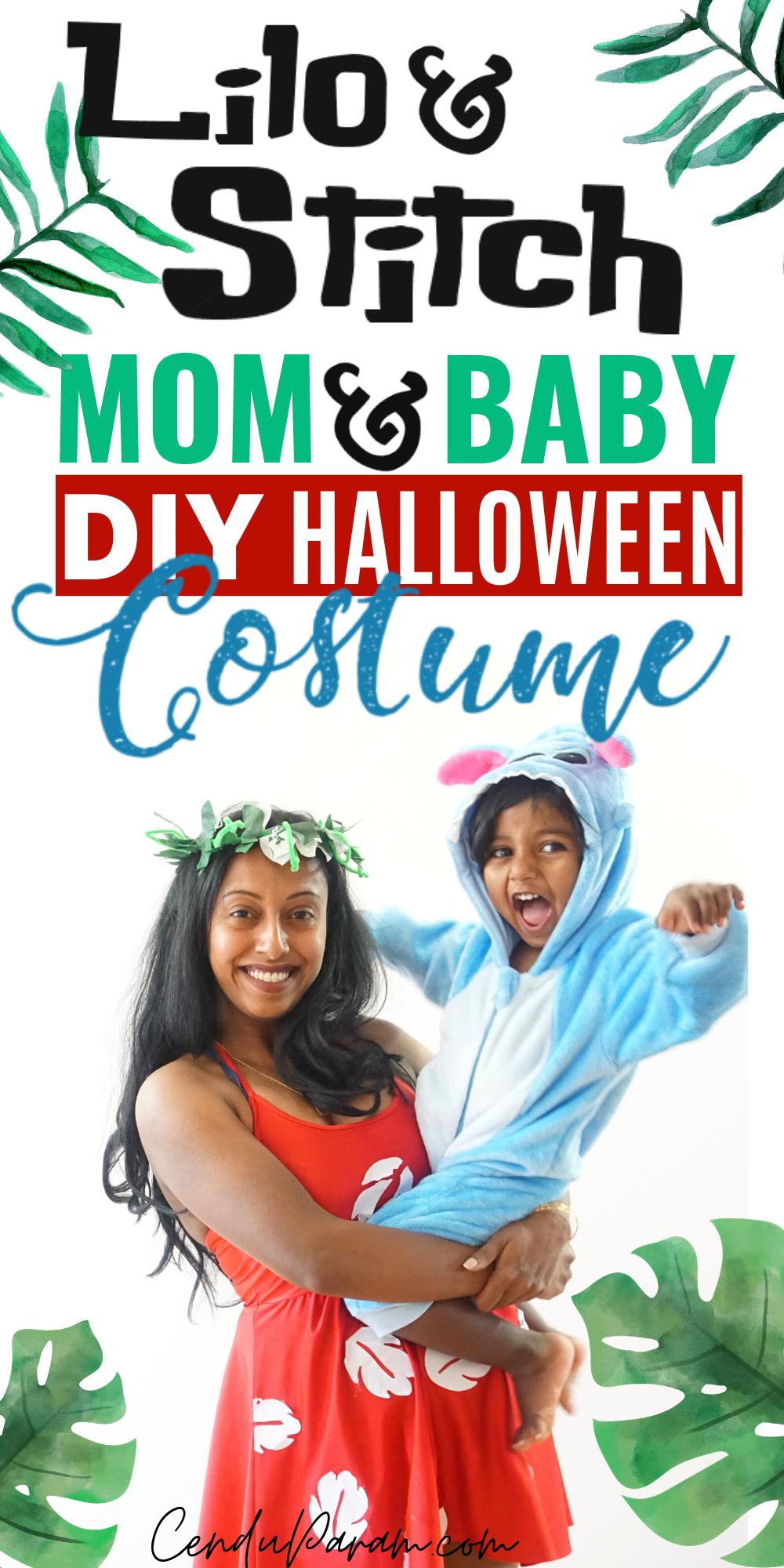 Lilo And Stitch Costume Diy Cenzerely Yours In 2020 Mom Costumes Stitch Costume Diy Baby Halloween Costumes For Boys