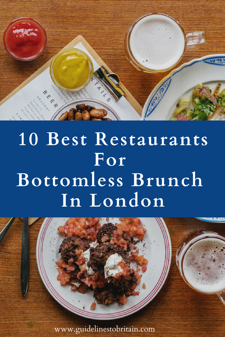 Check Out This List For The Ten Of The Best Restaurants For Bottomless Brunch In London Bottomlessbrunch Bottomlessbru Bottomless Brunch London Food Brunch