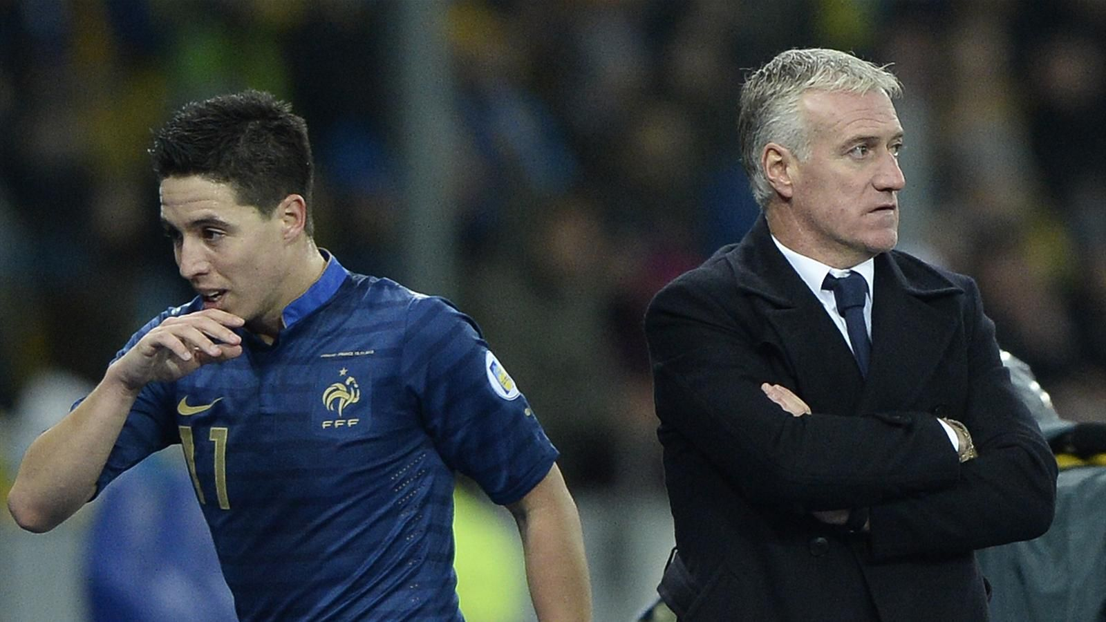 Nasri Hits Out At Deschamps And Lloris Methinks The Lady Protests Too Much France National Team Arsenal Players Latest Sports News