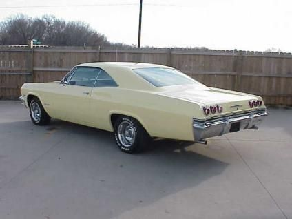 1965 Chevy Impala Supersport Classic 1965 Chevrolet Impala Super Sport 2 Door Hardtop For Sale In Auto Impala Carros