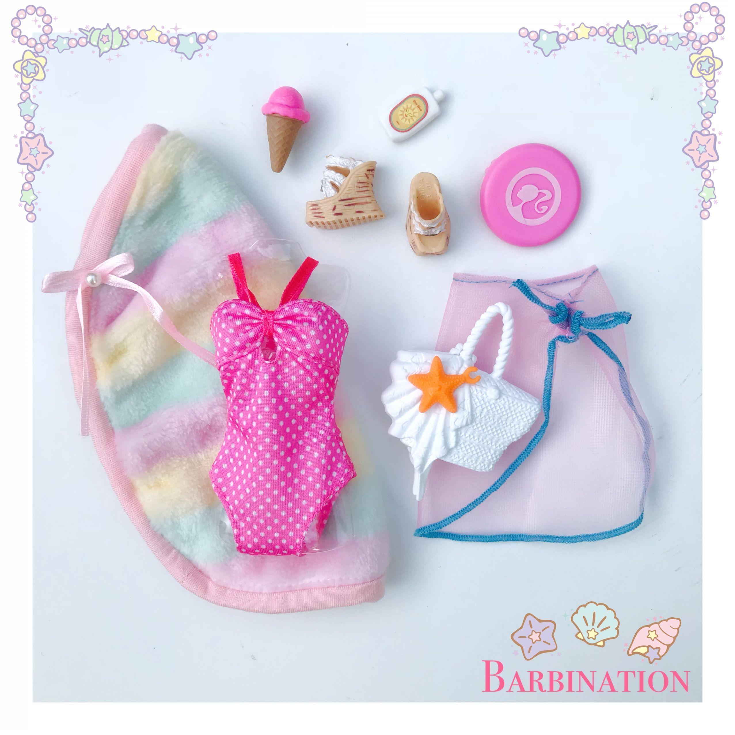 Barbielook Barbiestyle بحر مع باربي Barbie Doll Accessories Barbie Fashionista Dolls Barbie Playsets