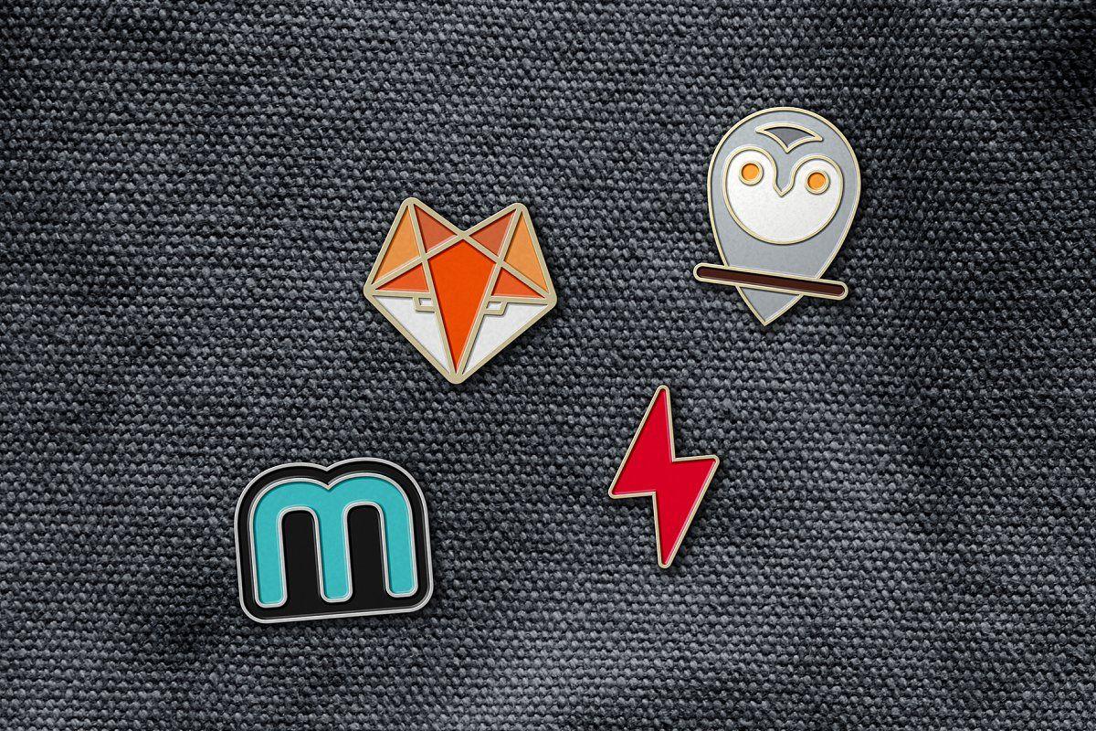 Enamel Pin Badge Mockup   Enamel pin badge, Pin badges, Enamel pins