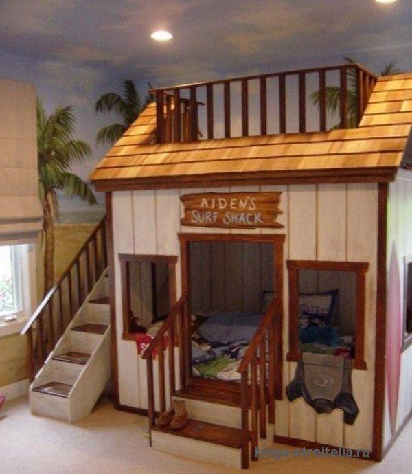 детские домик в комнате - Поиск в Google | Спальня для ...