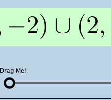 interval notation illustrator ii dynamically illustrates all