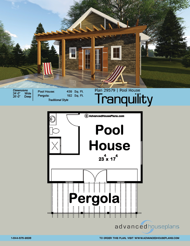 Pool House Plan Tranquility Pool House Plans Pool House Designs Pool House
