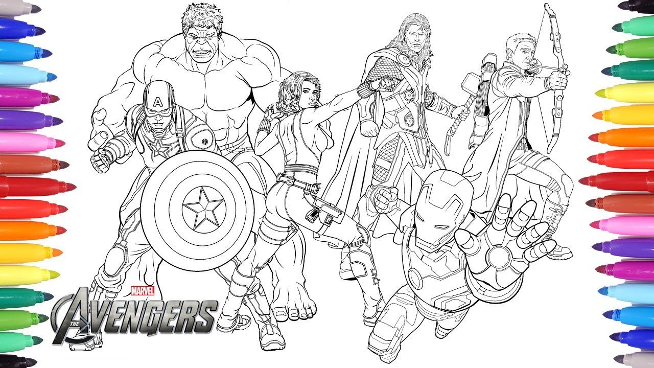 Grab Your New Coloring Pages Avengers Download Https Gethighit
