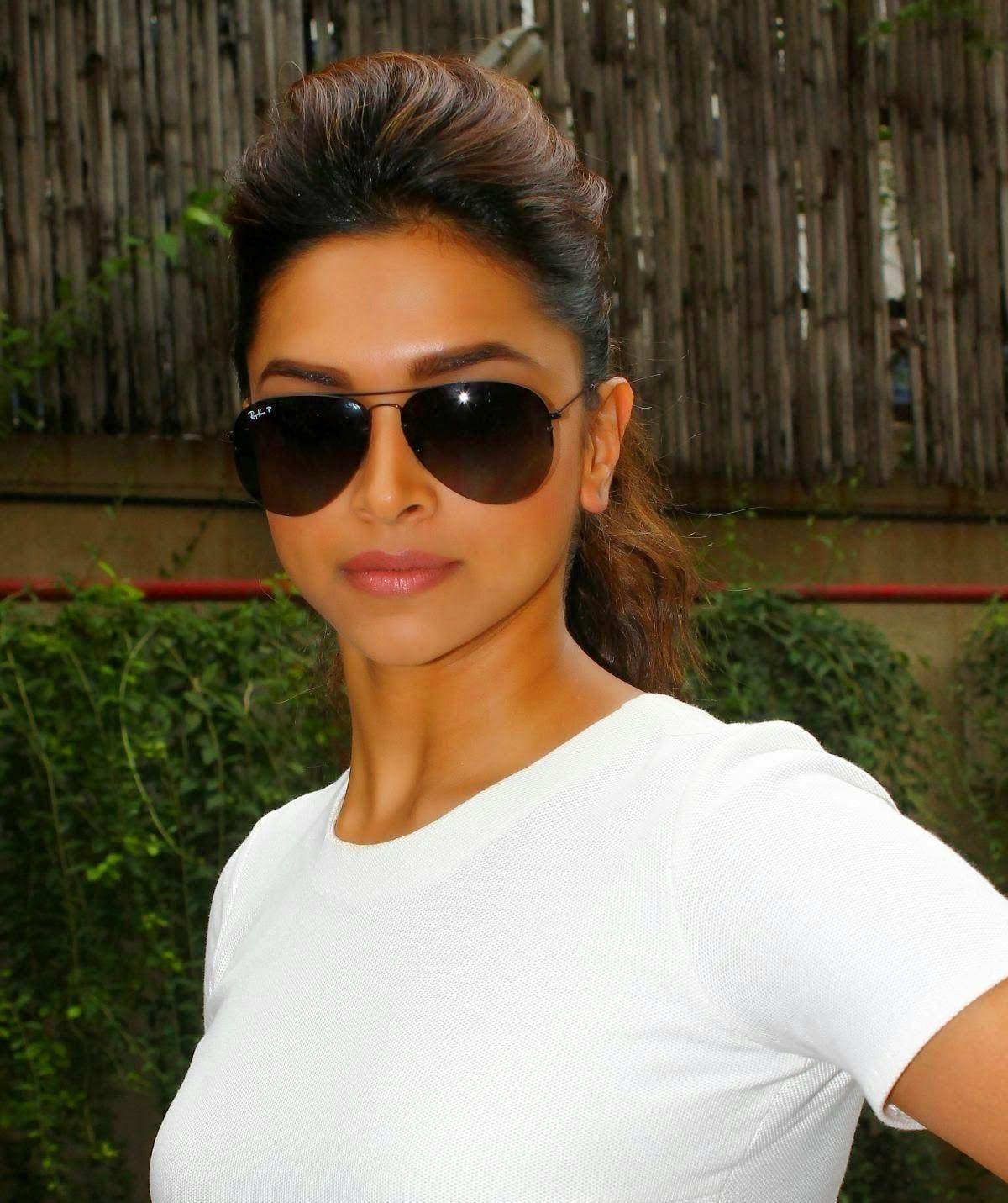 Deepika Padukone with Hot Sunglasses HD Photos and