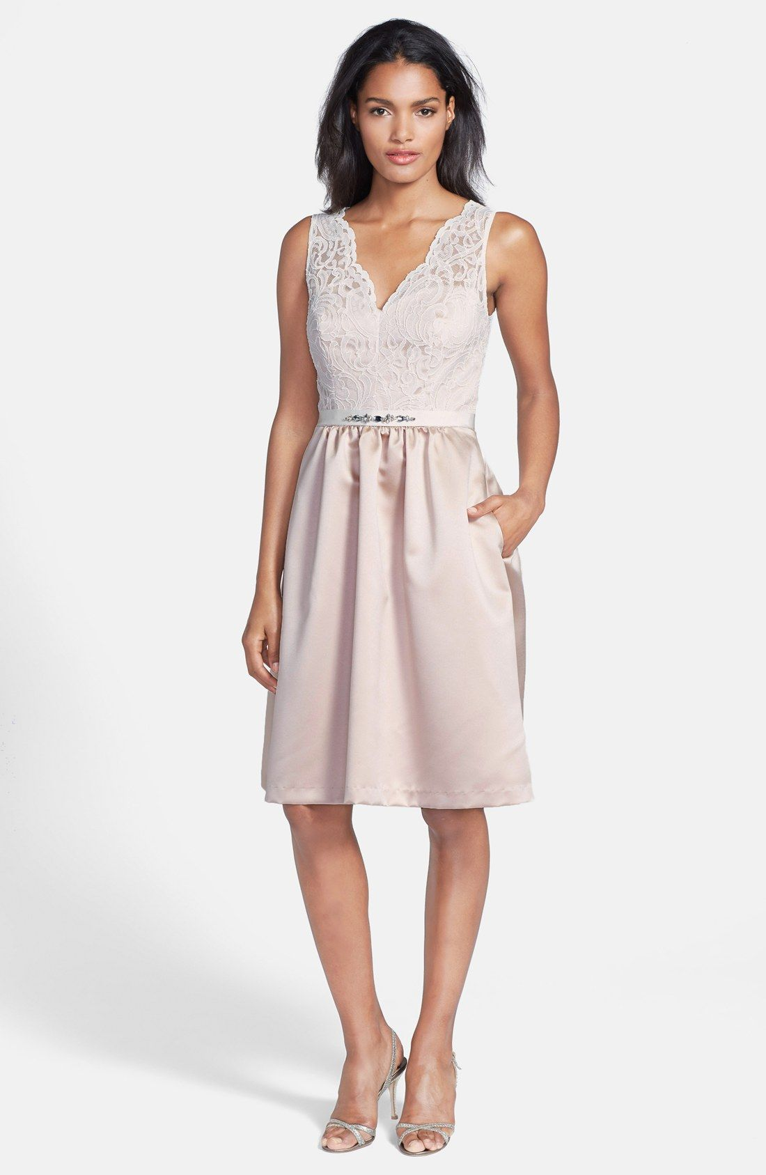 fit flare dress with pockets