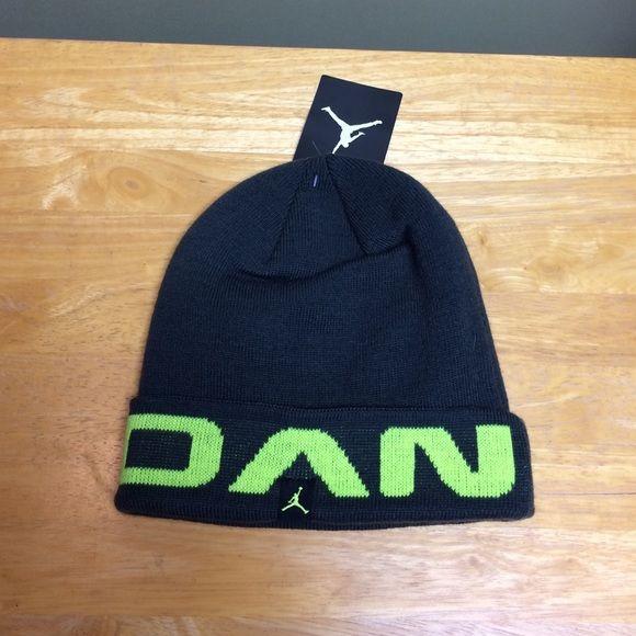 Youth Jordan Winter Gray Neon Green Hat NWT Youth Jordan Gray and Neon  Green winter Hat Jordan Accessories Hats 36a05aa1d3
