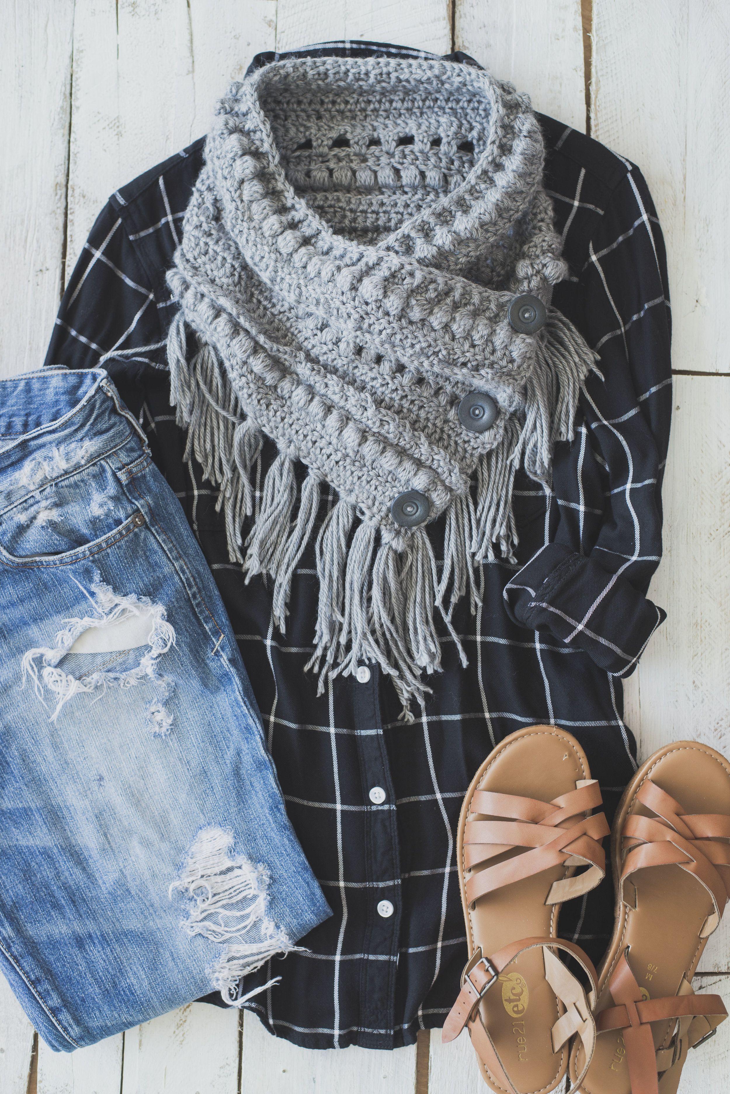 Free Crochet Pattern for the Textured Boho Cowl | Pinterest